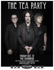 THE TEA PARTY 2014 SEATTLE CONCERT TOUR POSTER - Group Standing Together