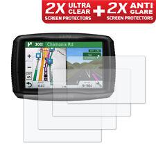 GARMIN ZUMO 590LM 595LM GPS Screen Protector 2 x Ultra Clear & 2 x Anti Glare