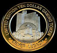 .999 $10.00 Silver Strike • Silver Legacy Resort Casino • Reno, NV • Casino 10th
