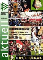 DFB-Pokalendspiel 2001 FC Schalke 04 - 1. FC Union Berlin, 26.05.2001