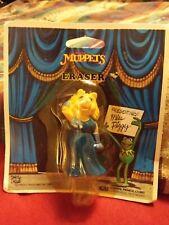 1983 Jim Hensons Muppets Miss Piggy Eraser Still In Package Never Opened!