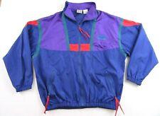 Vintage Ron Jon Surf Shop Surf Wear 90's Colorblock 100% Nylon Windbreaker Sz L