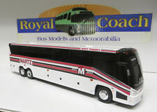 "Martz Trailways on an 11""  Brand New Mold MCI ""J""  Plastic Bank Bus"
