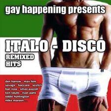NEW Gay Happening Presents Italo-Disco Remixed Hits (Audio CD)