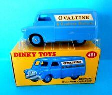 DINKY TOYS 481 BEDFORD 10cwe VAN OVALTINE  4659126 ATLAS EDITIONS 1/43 [N]
