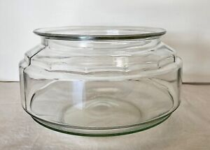 "Vintage Large Glass Turtle Fish Bowl or Plant Terrarium 9"" Across x 5 1/2"" Tall"