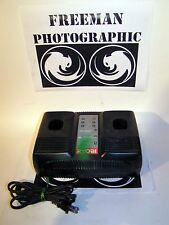 Ryobi One+ Plus P120 Dual 18 Volt NiCad Battery Charger Tested 18V ChargePlus+