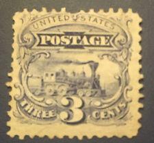 US SCOTT #114 1869 PICTORIAL 3 CENTS -MINT-PH-NO GUM- FVF