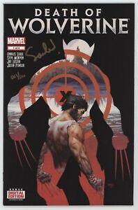 Death Of Wolverine 1 Marvel 2014 VF Signed Charles Soule Dynamic Forces DF COA