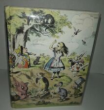 "Vintage 1946 Lewis Carroll ""Alice in Wonderland & Through the Looking Glass"""