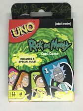 UNO Rick and Morty Card Game NEW Adult Swim