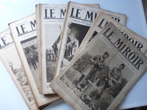 Revue LE MIROIR 1916 n°110-162 Armée Guerre (493)