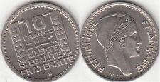 Monnaie Française 10 francs Turin 1947 B Petite Tête
