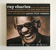 RAY CHARLES Genius Loves Company ORIG PURE AUDIOPHILE 2x 180g LP