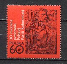 35829) POLAND 1972 MNH** Polish Workers' Party 1v. Scott#