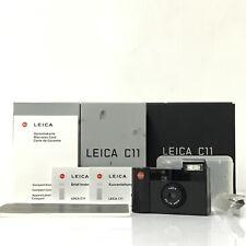 Leica C11 BLACK Point & Shoot APS Film Camera W/ Original Box JAPAN GOOD TK03T