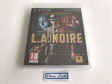 L.A. LA Noire - Édition Intégrale - Sony PS3 - FR - Neuf Sous Blister
