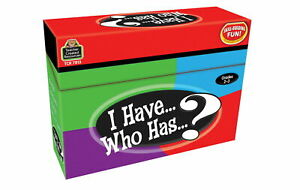 TEACHER CREATED RESOURCES - I HAVE., WHO HAS.? - LANGUAGE ARTS GAME GRS.2-3 -NEW