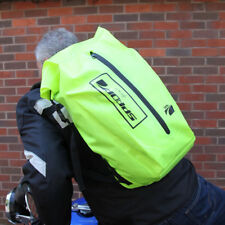 Spada Motorbike Motorcycle Waterproof Dust Proof 30 Litre Dry Ruck Sack - Fluo