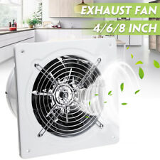 4/6/8 Inch Ventilation Extractor Exhaust Fan Blower Window Wall Kitchen