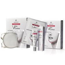 Anti Wrinkle Face Shape Lift Double Chin Reducer V-Line Strap Masks Cream - Set