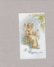 Vintage Catholic Holy Bible Prayer Card  Beautiful  early 1940s   Made in Spain