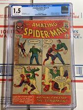 Amazing Spider-Man #4 CGC 1.5 (Marvel Comics 1963) 1st appearance of SANDMAN