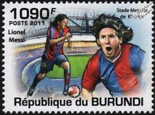 Lionel Messi (Barcelona) sello de fútbol (Metalist estadio, Nowy) (2011)
