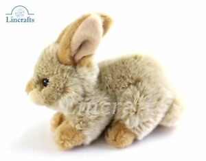 Beige Rabbit Plush Soft Toy Easter Bunny by Teddy Hermann Collection. 93702