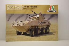 CHAR LAV-25 PIRANHA GULF WAR 25th ANNIVERSARY ITALERI 1/35 NEUF EN BOITE