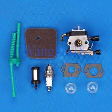 Carburetor Air Fuel Filter Fit STIHL FS38 FS45 FS55 FS46 KM55 String Trimmer