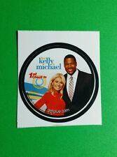 """LIVE KELLY & MICHAEL 1ST CHECK IN PHOTO TV SMALL 1.5"""" GETGLUE GET GLUE STICKER"""