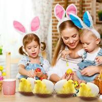 12 Stück Osterküken Gelb Flauschiger Plüsch Mini Huhn Kinder Eier Dekoration DIY