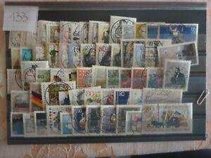 Nr. 133 Briefmarken Bund aus 1984 - 1986 gestempelte Marken Block 20