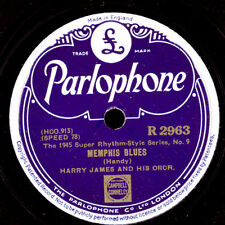 HARRY JAMES & HIS ORCHESTRA  Memphis Blues / Sleepy Time Gal       78rpm   X1613