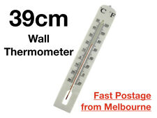 Indoor/Outdoor Thermometer Wall Large Jumbo Giant 39x6 cm Celsius and Fahrenheit