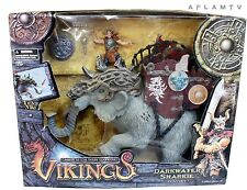 Vikings Playset Action Figure Mammoth Fantasy warriors Mammoth