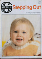Sirdar Stepping Out Knitting Pattern Book 113 19 Designs For Toddlers Girls Boys
