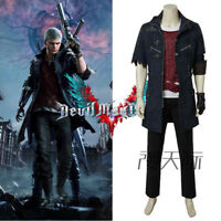Devil May Cry V DMC5 Nero Outfit Cosplay Costume Uniform Full Suit Unisex Jacket
