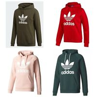 ADIDAS MEN ORIGINALS TREFOIL FLEECE HOODIE - HOODED SWEATSHIRT