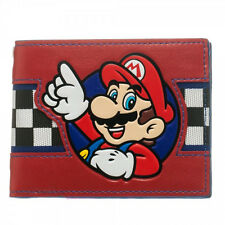 NEW Official Nintendo + SUPER MARIO BROS WALLET + Mens Womens Boys Bifold COOL