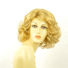 Perruque femme mi-longue blond clair doré KAISSY LG26