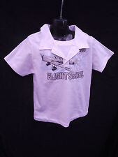 BNWT Boys Sz 7 Rivers Doghouse Brand Smart White Layered Short Sleeve Polo Top