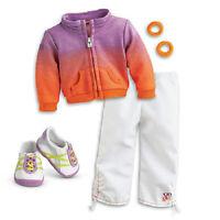 American Girl McKenna's WARM UP OUTFIT Jacket SET for McKenna gymnastics Doll