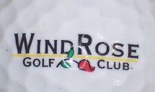 (1) Wind Rose Golf Club Course Logo Golf Ball (Texas)