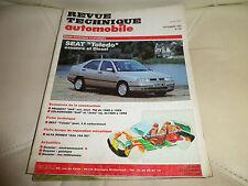 RTA 554 de 1993: SEAT Toledo Evolution Peugeot 205 de 89 à 92 et VW GOLF 89 à 92