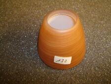 Glas 126 Leuchte Lampenglas Schirm Reflektor burgund, Schirmchen Glocke rot