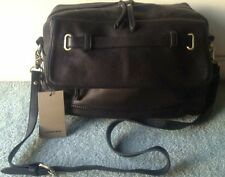 COUNTRY ROAD Black Leather Convertible Duo Bag BNWOT