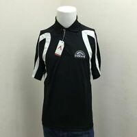 NEW Mens Colorado Rockies Antigua Baseball Polo Shirt Small p3-2