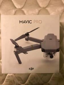 DJI Mavic Pro 4k Drone Quadcopter - Gray
